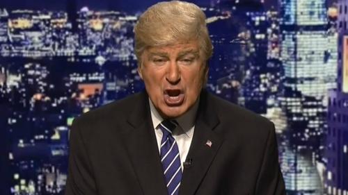 Alec Baldwin impersonate's Donald Trump on Saturday Night Live