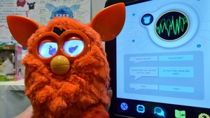 Hasbro noted strong sales in Furby toys in its latest quarter
