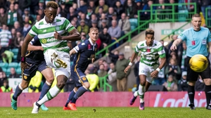 Dembele scored from the spot