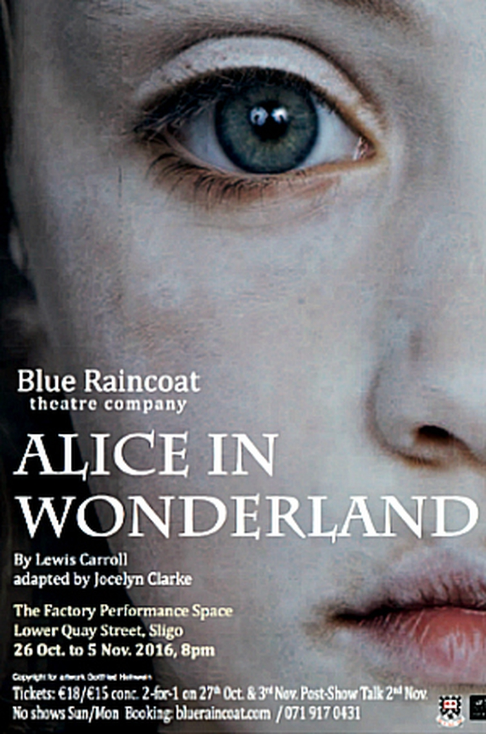 """Alice In Wonderland"" adapted for Blue Raincoat"