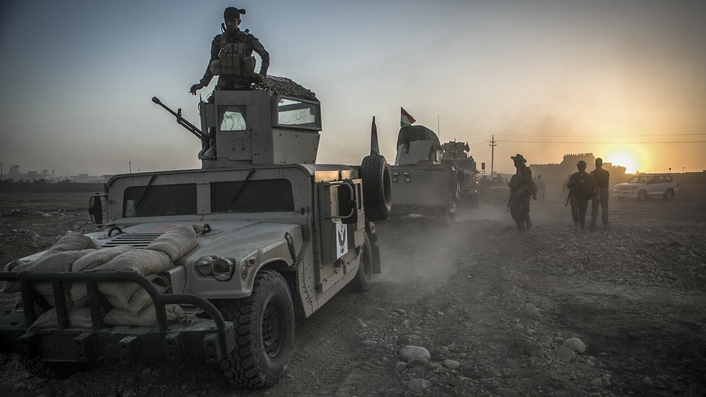 Forces say they are 'ahead of schedule' in their efforts to retake Mosul