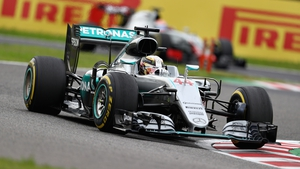 Hamilton was criticised for his behaviour at the Japanese Grand Prix