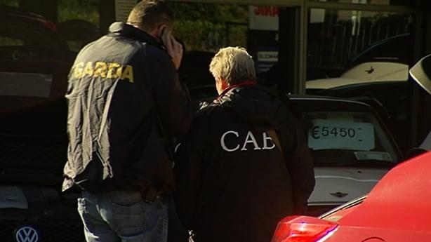 Gardai swoop across Dublin in targeted organised crime raids