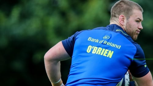 Seán O'Brien had been named among the replacements for the Pro12 semi-final