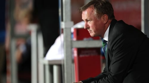 Michael O'Neill won two Premier Division titles with Shamrock Rovers