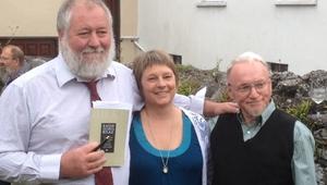Poets Seamus-Hogan, Ailin Becker and Sean O'Mahony