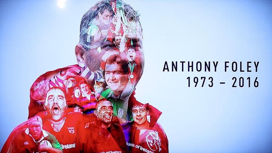 Peter O'Mahony on Anthony Foley