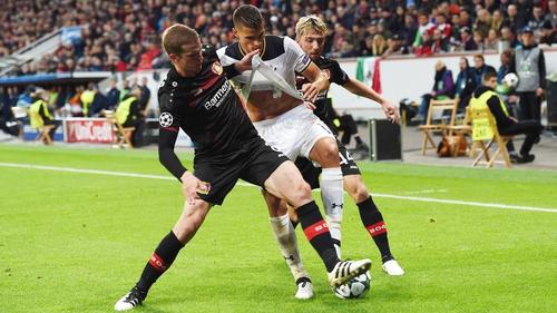 Erik Lamela was at nothing again for Tottenham