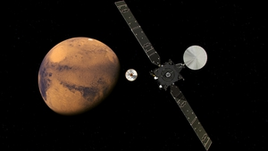 Schiaparelli separated from its own mothership, the ExoMars Trace Gas Orbiter, on Sunday