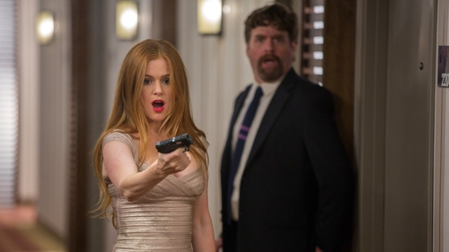 Isla Fisher and Zach Galifianakis' talents are wasted in this action comedy