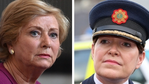 Frances Fitzgerald (l) is said to believe that contingency arrangements are a matter for Garda Commissioner Nóirín O'Sullivan