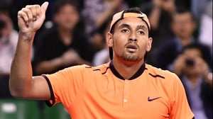 Nick Kyrgios is currently suspended from the tour