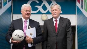 Aogán ÓFearghail and Páraic Duffy