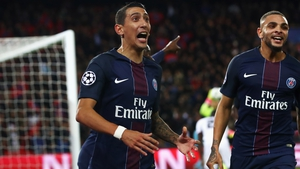 Di Maria opened the scoring for PSG