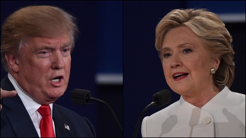 Donald Trump and Hillary Clinton took part in their third and final debate in Las Vegas