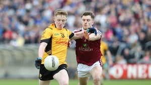 Ramor United's James Brady (l) and Stephen Cooney of Castlerahan will square off again in the Cavan football final replay