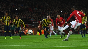Paul Pogba scores from the penalty spot