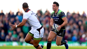 Cian Kelleher in action against Toulouse last weekend