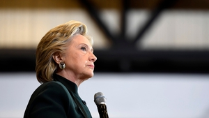 The substance was found in Manhattan and then taken to Hillary Clinton's Brooklyn headquarters