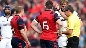 Keith Earls has been hit with a two week suspension