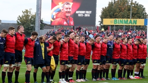 A minute's silence was observed before kick-off