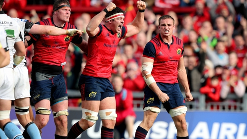 Munster will be looking for a back-to-back Champions Cup win against Glasgow