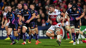 Ulster's Sean Reidy scored the only try of the game in Belfast