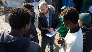 Volunteers and officials have began distributing leaflets and information to migrants as the French authorities prepare to start clearing the Jungle camp tomorrow