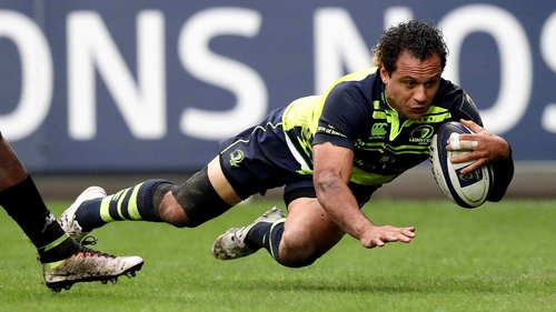 Nacewa's last-gasp try kept Leinster top of Pool 4