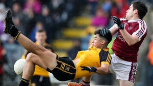 Ramor's Matthew Magee (r) challenges Oisin O'Connell of Castlerahan