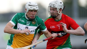Ronan Hughes, pictured in action for Offaly, finished with a personal haul of 1-04