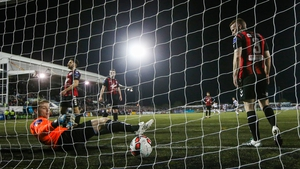 Andy Boyle opened the scoring at Oriel Park