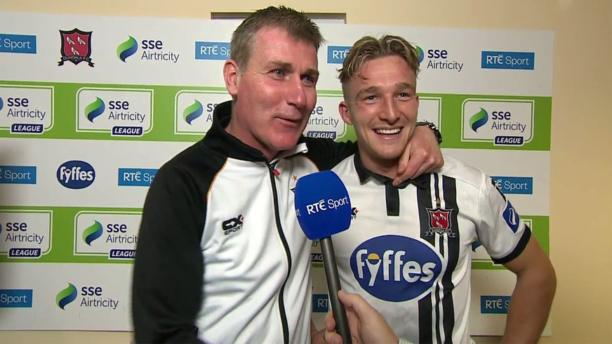 Dundalk celebrate another league title