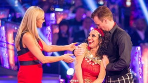 Lesley Joseph 'absolutely fine' after Strictly exit