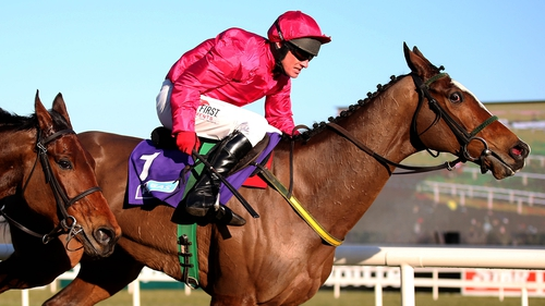 A tendon problem has ruled Apache Stronghold out for the season
