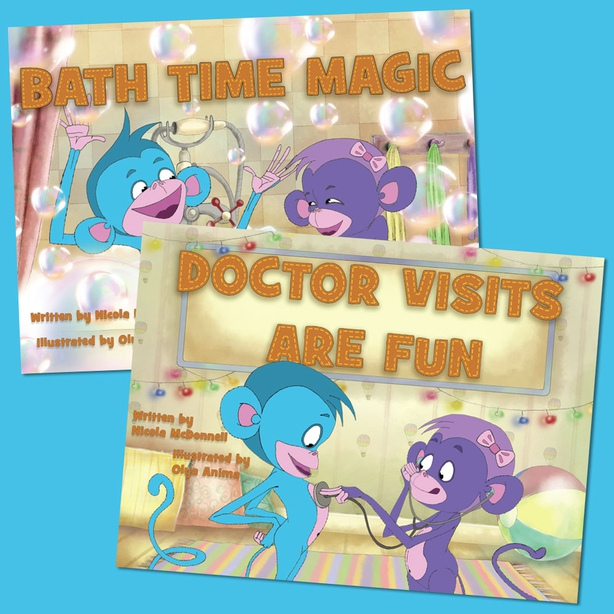 Itchy Little Monkeys Books for kids