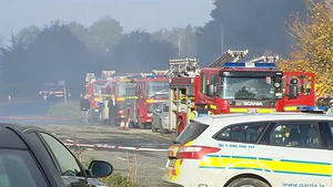 Ten fire units from across Tipperary were called to the scene near Nenagh