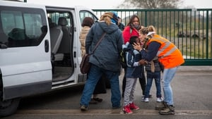 The fate of about 1,300 unaccompanied children remains uncertain