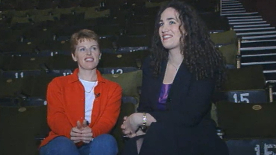 Fiona O'Reilly (Soprano) and Fiona Murphy (Mezzo) at the Wexford Opera Festival (2001)