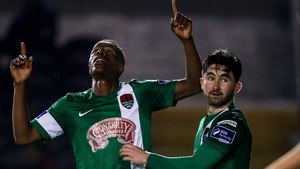 Chiedozie Ogbene and Sean Maguire were both on the scoresheet for Cork