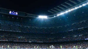 Real Madrid's Estadio Santiago Bernabeu