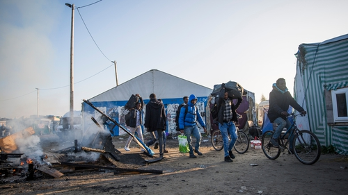 Forty unaccompanied minors who were living in an unofficial camp in Calais are to be accommodated in Ireland in the coming weeks