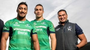 Bundee Aki (l): 'This place has become home to me and my family now'