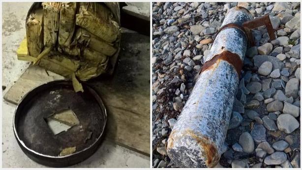 Необычный предмет обнаружили случайные прохожие на пляже Лисканнор