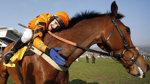 Tom Scudamore steered Thistlecrack to victory at Chepstow