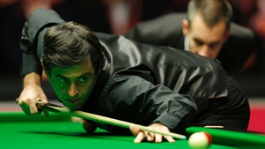 Ronnie O'Sullivan strolled into the last 16 at the UK Snooker Championships in York