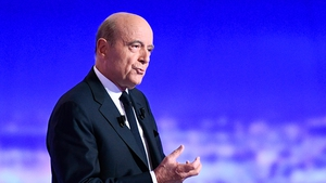 Alain Juppe reaffirmed pledges to scrap a wealth tax and cut corporate tax if elected in May