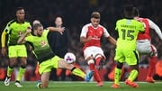 Alex Oxlade-Chamberlain claimed a brace of goals to give Arsenal victory