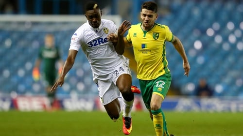 Robbie Brady missed a penalty in Norwich's shoot-out defeat to Leeds