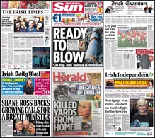 A cut in mortgage rates more on the GSoc whistle-blower inquiry and John Delaney's resignation from the OCI are some of the stories you'll find on your front pages this morning.